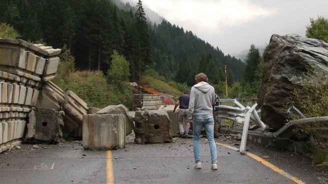 La strada provinciale numero 29 della Valfurva chiusa al traffico