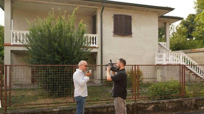 La casa di Zorlesco dove abita la famiglia Zamperoni