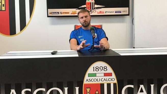 Il tecnico dell'Ascoli alla vigilia dell'esordio in campionato