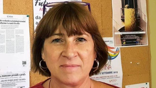 Alessandra Loreti, segretaria della Flc Cgil Imola (Foto Agnessi)