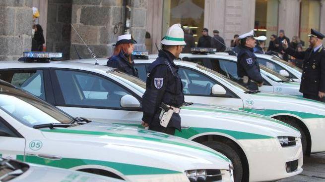 La polizia locale di Monza