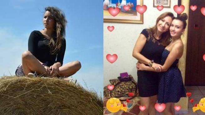 Da sinistra, Arianna Masciarelli. A destra, la 15enne con la mamma Manuela