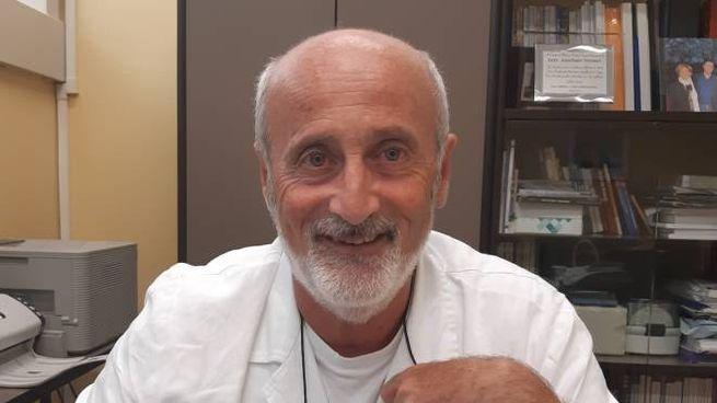 Annibale Versari, responsabile della Medicina nucleare (Foto Ferretti)