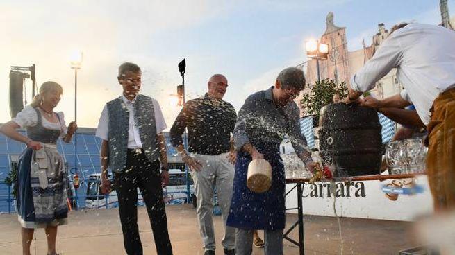 La festa della birra a Carrarafiere (foto Delia)