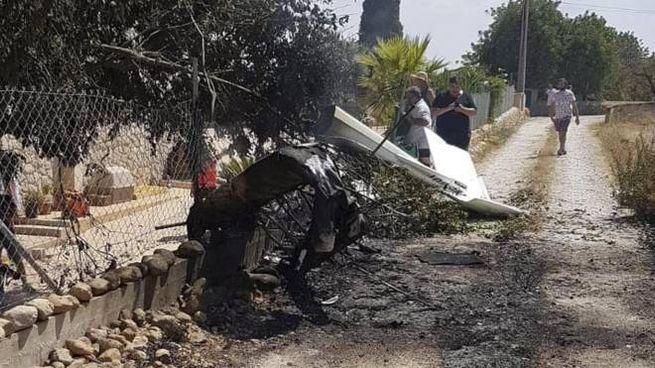 Incidente aereo a Maiorca, moto un italiano (foto Ansa)