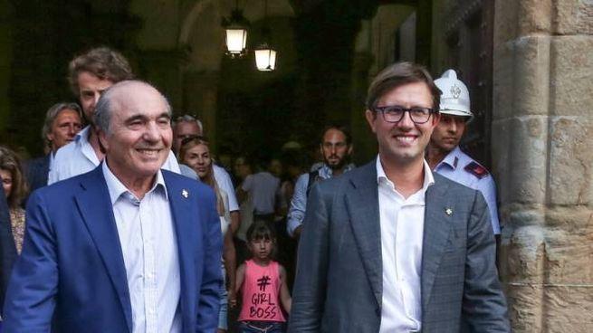Rocco Commisso e Dario Nardella (Germogli)