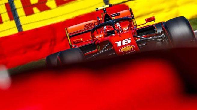 Formula 1, Ferrari , Charles Leclerc (foto Ansa)