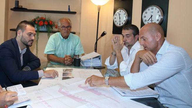 Un momento della presentazione del progetto