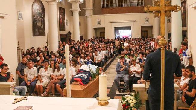 I funerali di Matteo Sanchioni (Fotoprint)