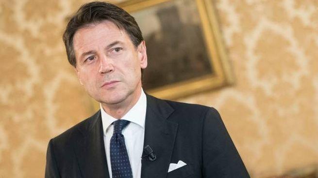 Il premier incaricato Giuseppe Conte (LaPresse)