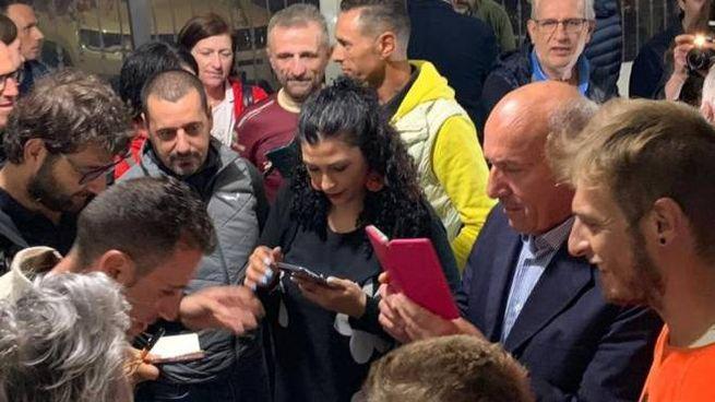 Vincenzo Nibali incontra i tifosi