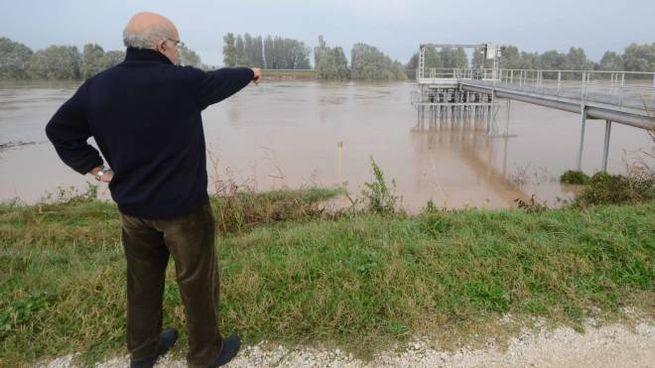 Il fiume Adige, in questi giorni sotto la lente dell'Arpav