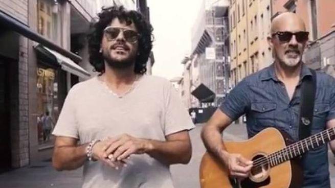 Francesco Renga e  Fulvio Arnoldi (Foto Instagram)