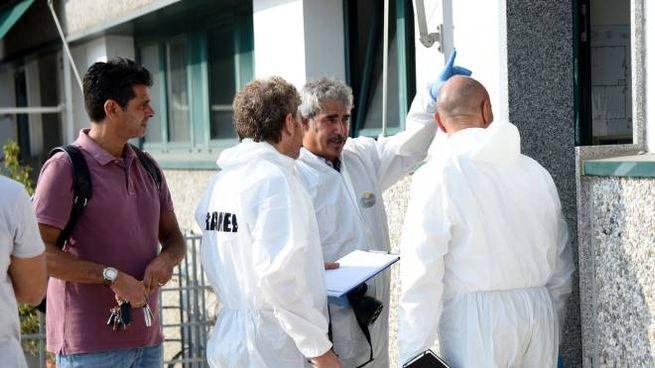 Sopralluoghi in via Primicello (foto Businesspress)