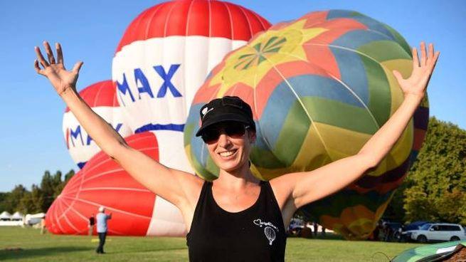 Un'immagine della scorsa edizione del Balloons Festival, a Ferrara (foto BusinessPress)