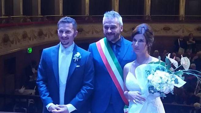 Matrimonio a Teatro Gentile