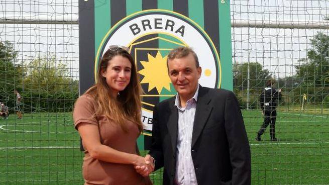 Il sindaco Caterina Molinari con il presidente Alessandro Aleotti