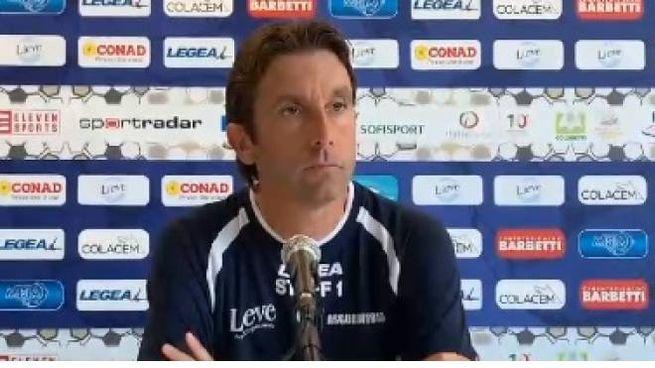 L'allenatore del Gubbio Guidi