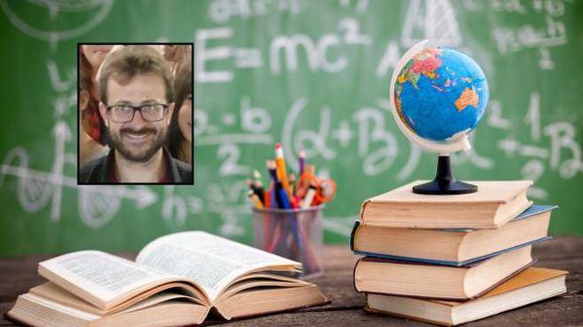 Nel riquadro, il professor Marcello Contento