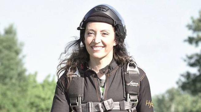 La paracadutista Mascia Ferri
