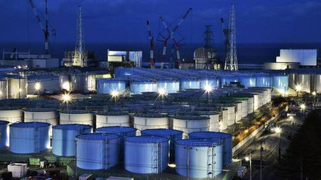 Giappone, la centrale nucleare di Fukushima (foto Ansa)