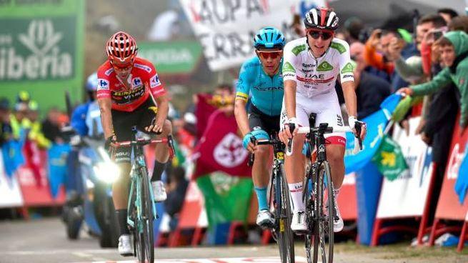 Pogacar, Lopez e Roglic (LaPresse)