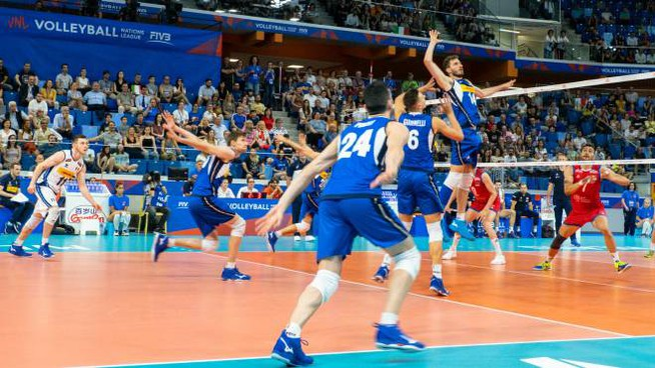 Europei volley, Italia favorita nel girone (foto Lapresse)