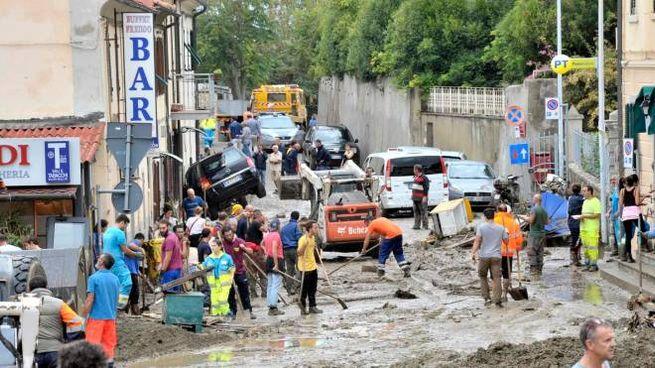 L'alluvione di Livorno (Novi)