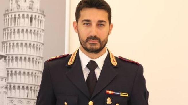 Il dirigente della Squadra Mobile di Pisa, dottor Fabrizio Valerio Nocita