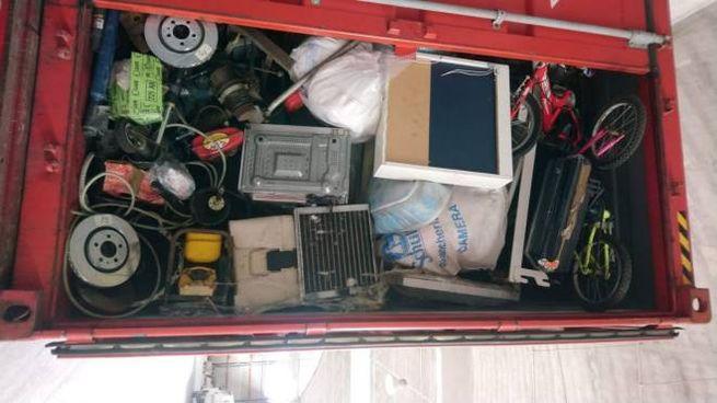 Traffico di rifiuti, la merce è stata trovata in un container