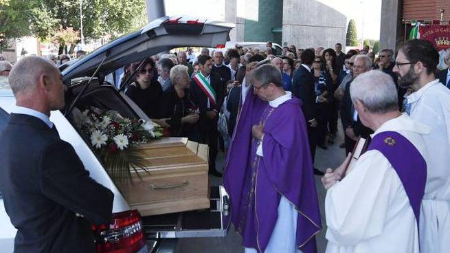 Dino Pirini, il funerale a Castenaso (FotoSchicchi)
