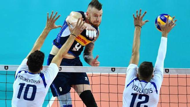 Zaytsev contro la Grecia