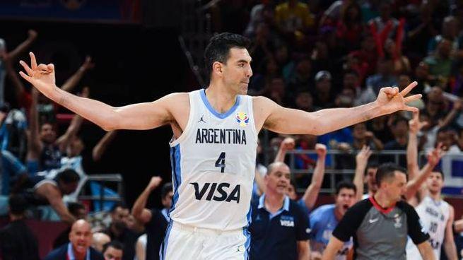 Argentina, Luis Scola (foto Lapresse)