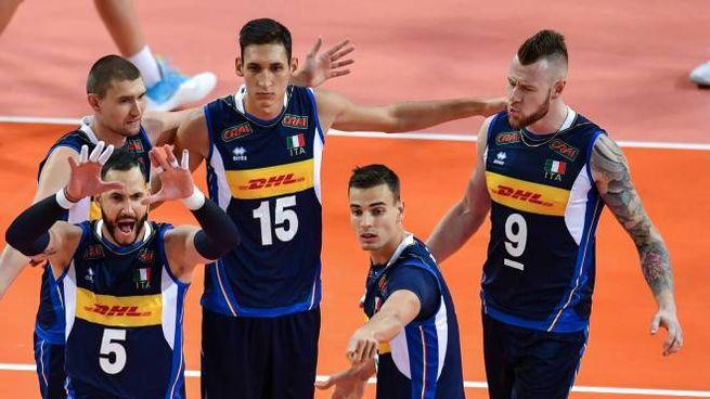 L'Italvolley maschile pronta alla sfida contro la Romania