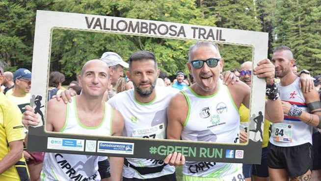 Green Run - Vallombrosa Trail (foto Regalami un sorriso onlus)