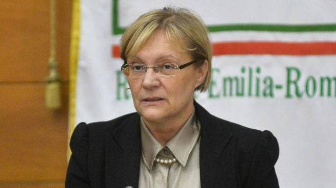 Simonetta Saliera, a capo dell'assemblea legislativa di viale Aldo Moro (Foto Serra)