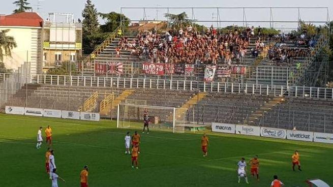 I tifosi pesaresi a Ravenna