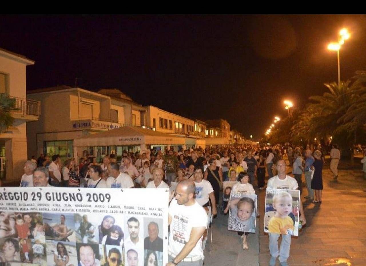 Strage Viareggio: il ricordo delle vittime