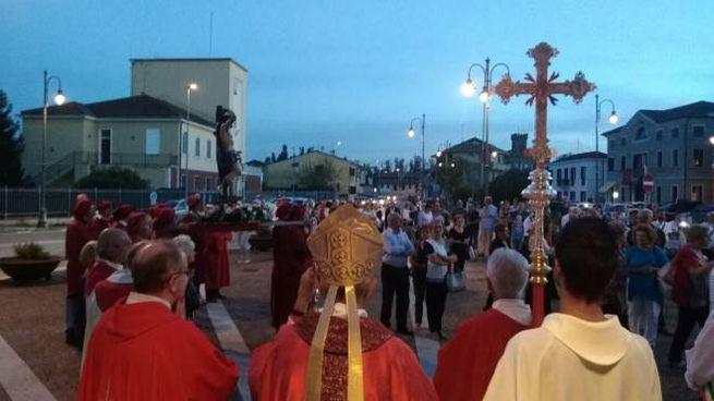 Contarina, l'inaugurazione della chiesa
