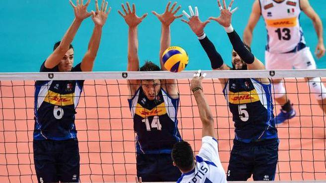 L'Italvolley maschile si prepara alla sfida contro la Bulgaria