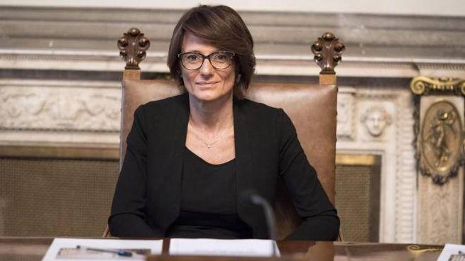 La ministra Bonetti (Ansa)
