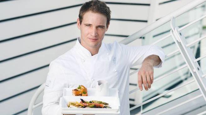 Antonio Scarantino, chef del ristorante AlMare di Fano