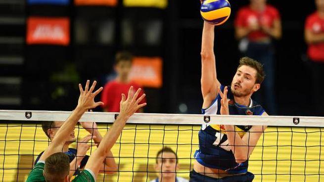 Piano in azione nella vittoria contro la Bulgaria