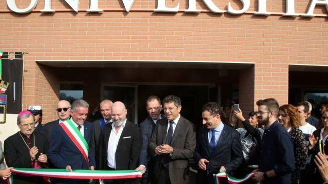 L'inaugurazione del nuovo Campus, lo scorso anno