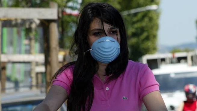 Mascherine antismog (foto Germogli)