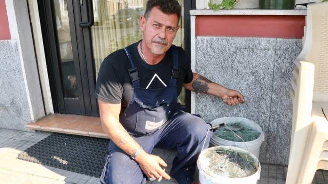 Pino Fiorelli titolare del ristorante