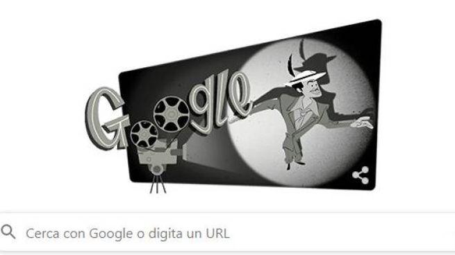 Il doodle che Google dedica a Tin Tan