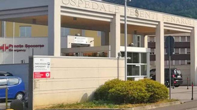 L'ospedale Pesenti-Fenaroli di Alzano Lombardo