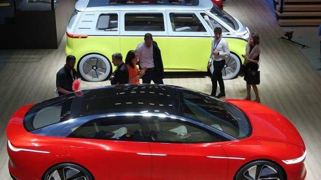 Auto in mostra