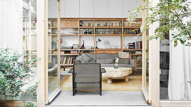 Conversione di un magazzino in abitazione privata a Parigi